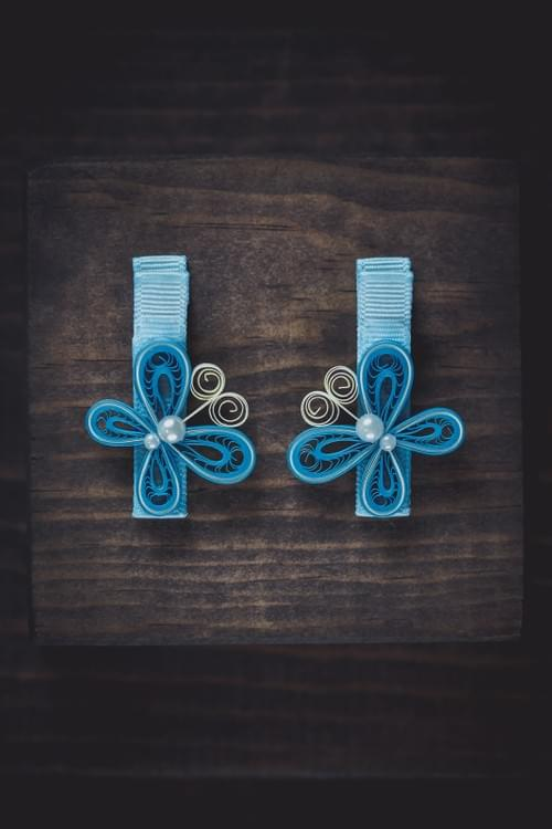 Butterfly Hair-Clips
