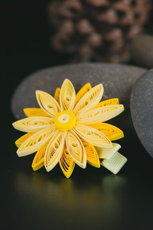 Sunflower Hair-clip