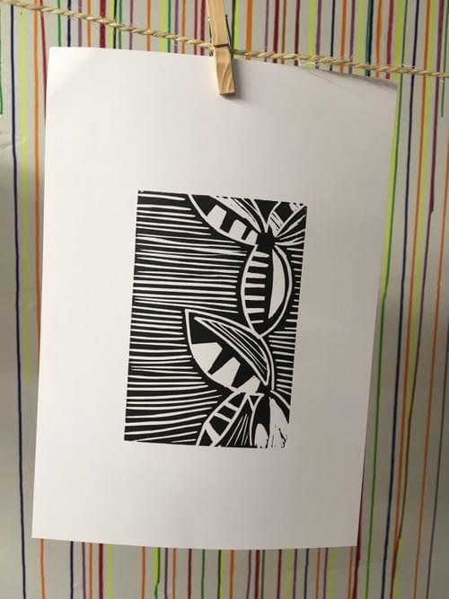 Lino printing creative kit