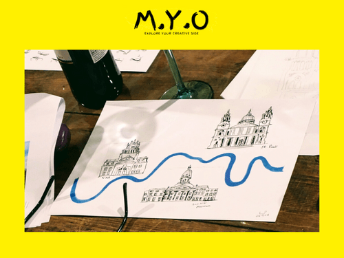 Illustrated Maps - Virtual Class  18th August 6.30pm - 8.30pm