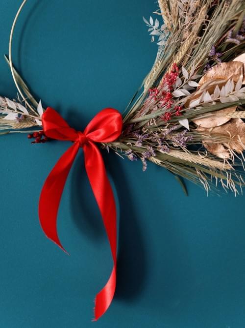 Christmas Dried Wreath Making Kit