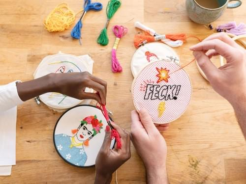 Embroidery Creative Jungle Kit