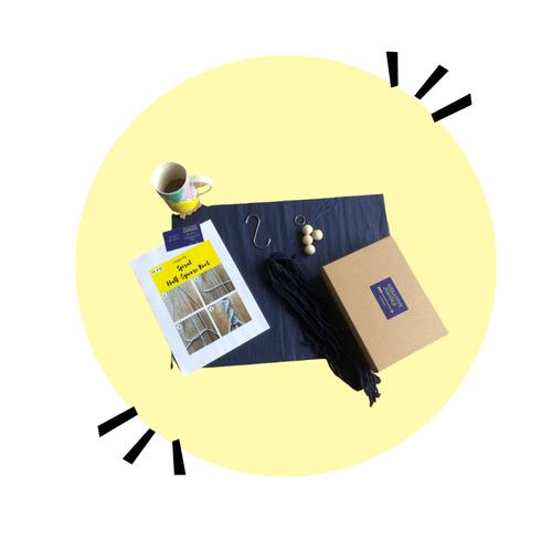 Macramé plant hanger creative kit