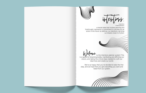 Digital Download: Intentions Planner