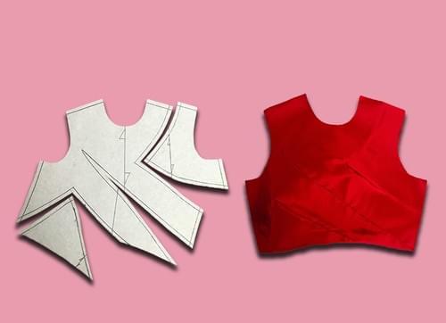 PDF Half Scale Dress Block (6-24)