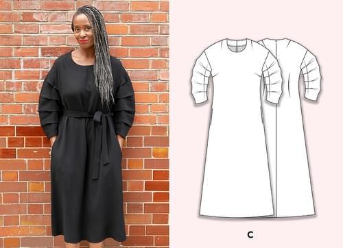 Chameleon Dress Pattern & Victoriana Sleeve Pattern Making Kit