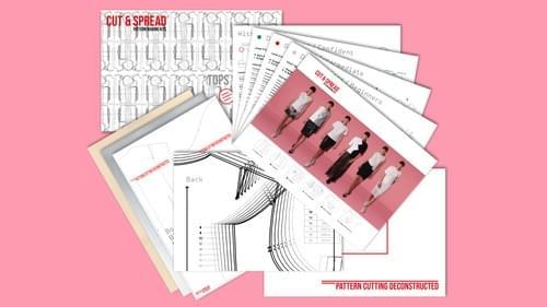 Cut & Spread™ Pattern Making Kit. TOPS