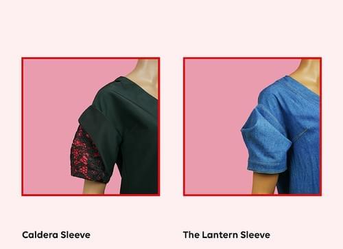 Kimono-inspired Sleeve Pattern Making Kit PDF