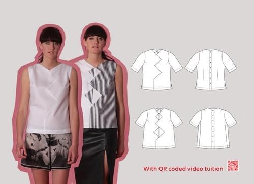 Beginners Cut & Spread™ Pattern Making Kit. Woven TOPS