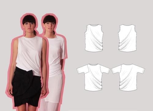 Confident Cut & Spread™ Pattern Making Kit. Jersey TOPS