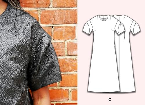 Chameleon Dress Pattern & Caldera Sleeve Pattern Making Kit PDF