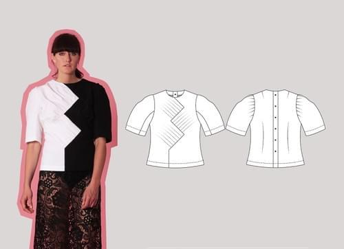 Intermediate Cut & Spread™ Pattern Making Kit. Woven TOPS