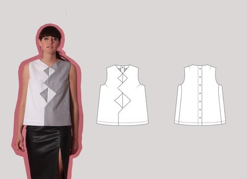 PDF Beginners Cut & Spread™ Pattern Making Kit. Woven TOPS.