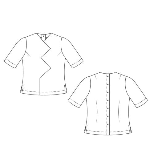 Beginners Cut & Spread™ Pattern Making Kit. Woven TOPS