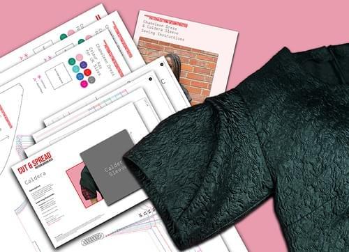 PDF Chameleon Dress Pattern & Four Sleeves Pattern Making Kit