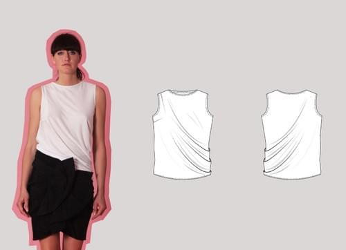 All Levels Cut & Spread™ Pattern Making Kit. Woven & Jersey TOPS