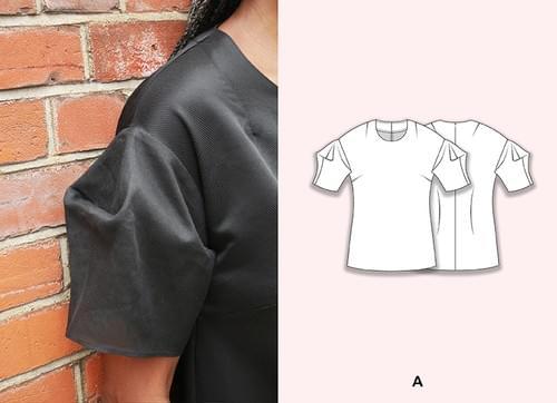 Chameleon Dress Pattern & The Lantern Sleeve Pattern Making Kit PDF