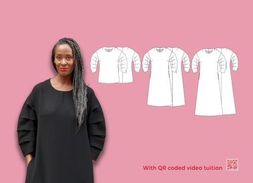 Chameleon Dress & Victoriana Sleeve PDF Sewing Pattern