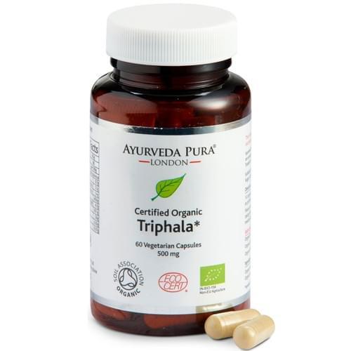 ORGANIC TRIPHALA HERBAL CAPSULES (60 CAPSULES)