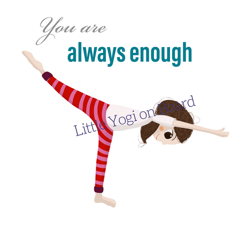 Yoga Poster 'Always enough'