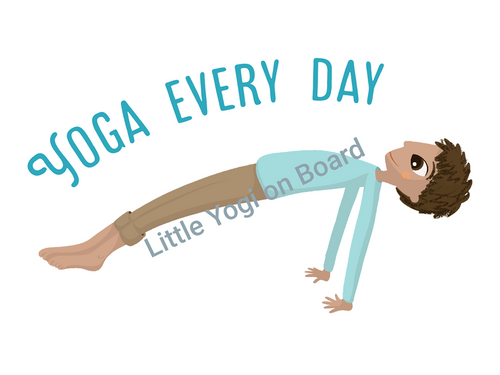 Yoga Poster 'Every day'
