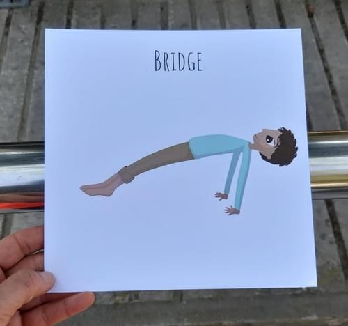 18 PCS Printable Yoga Card Set
