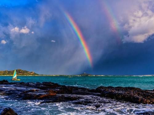 Rainbow in Kailua