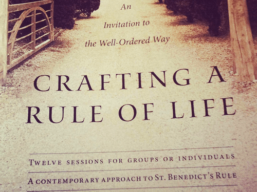 CRAFTING A RULE OF LIFE | an integrative journey of guided readings, meditations, & holy yoga