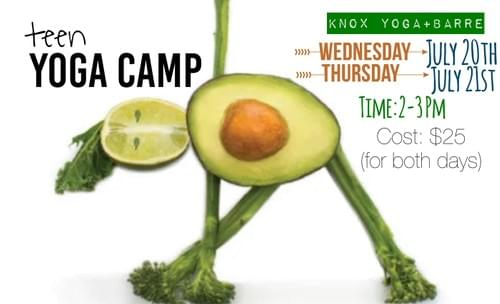 Teen Yoga Camp