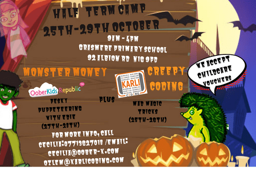 Halloween Camps 2021- Weekly Pass (25th-29th October)