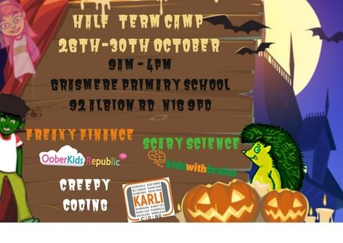 Halloween Half Term Camp (26th-30th October) - Weekly Pass