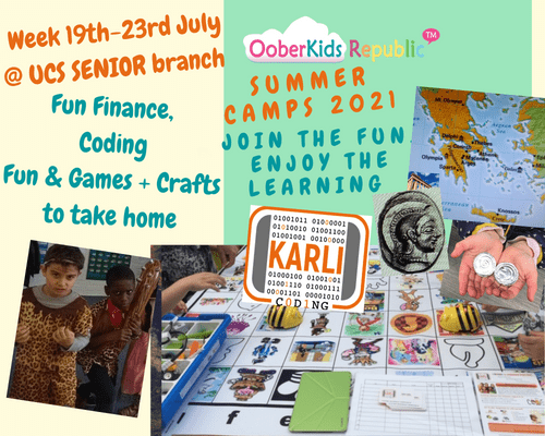 Summer Camps 2021- Weekly Pass (19th-23rd July) SIBLINGS' RATE