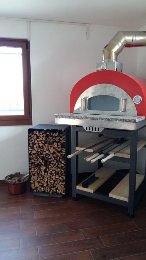 Forno Modello Taverna 4 pizze