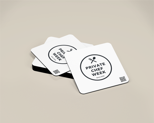 Private Chef Week Coasters