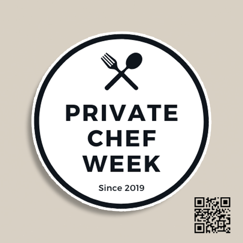 """Donate To Private Chef Week"" Magnet"