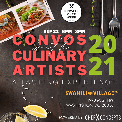 Convos with Culinary Artists Live Speaker Series