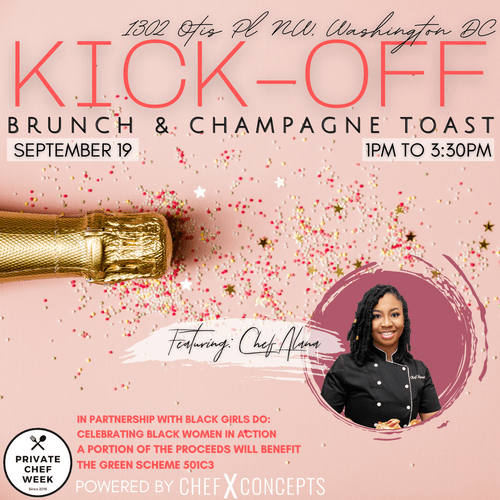 Signature Kick-Off Brunch & Champagne Toast