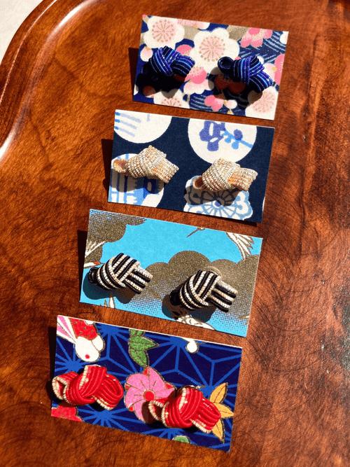 結び Musubi ピアス earrings