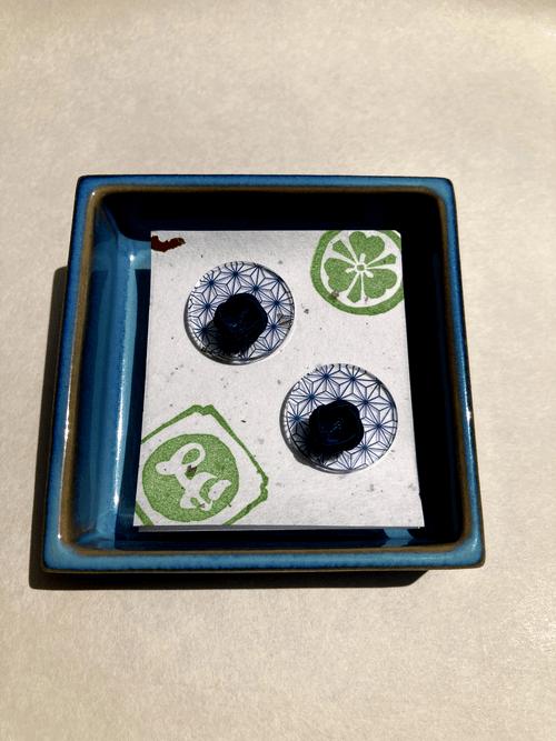 伝統柄 Nippon 麻の葉(Asa -no-ha) ピアス Earrings