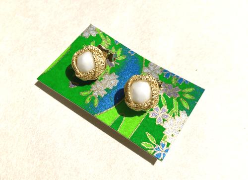 あわじ包み Awaji-tsutsumi クリップイヤリング Clip on earrings