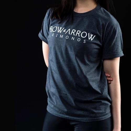 Bow & Arrow Kimonos Tee (Dark Grey)
