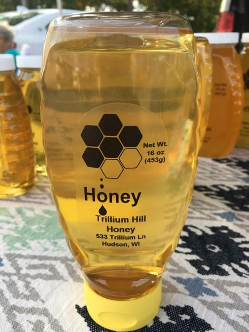 Raw Honey, Squeeze Bottle