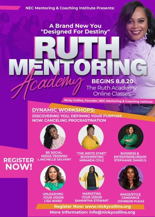 Ruth Academy Registration