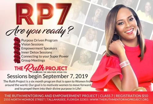 The Ruth Project Registration