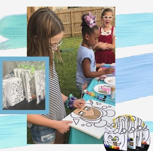 DIY PAINT PARTY KITS