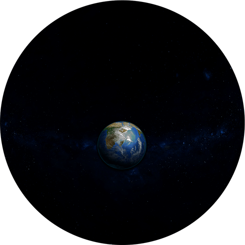 Earth: A Blue Marble in Space