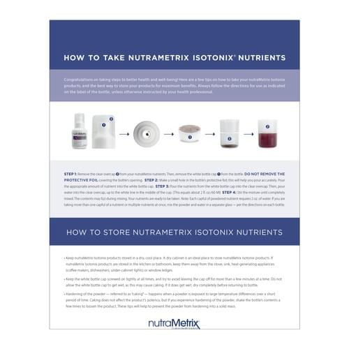 nutraMetrix Isontonix Vitamin D with K2