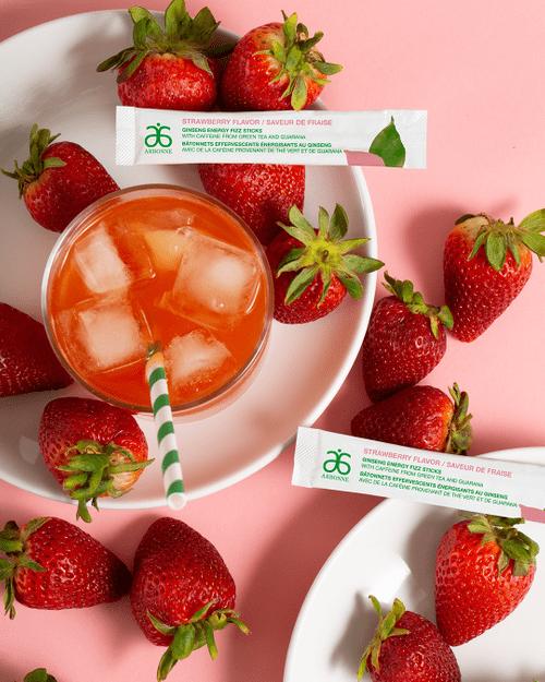 Strawberry Energy FizzSticks