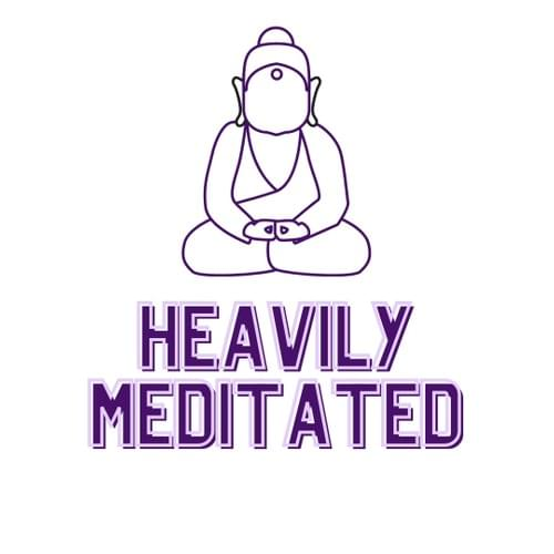 Heavily Meditated Vinyl Sticker