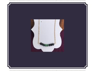 Ruby Zosite- Gemstone Energy Necklaces